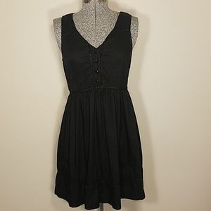 Pins And Needles Sleeveless Black Dress Small